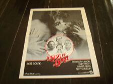 A STAR IS BORN 1976 Oscar ad with Barbra Streisand, Kris Kristofferson