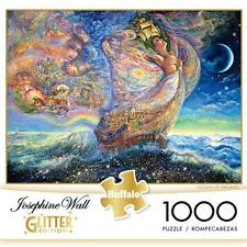 BUFFALO GAMES GLITTER PUZZLE OCEAN OF DREAMS JOSEPHINE WALL 1000 PCS #11728