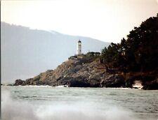 Rare & Vintage South Korea Postcard, Dongbaek Lighthouse, Busan Park. pb24