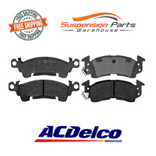 Front 4 Disc Brake Pad Semi-Metallic ACDelco Advantage 14D52M Fits Cadillac Jeep