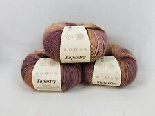 ROWAN Tapestry Yarn LOT of 3 SKEIN color: Multi-color/Mauves