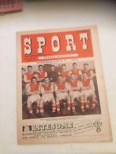 Sport Weekly Magazine, 1949
