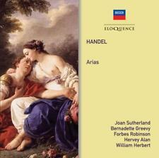 Joan Sutherland, Bernadette, Forbes, Hervey, William - Handel Arias (CD DOUBLE)