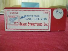 Scale Structures 7106 HO Panel Delivery Kit