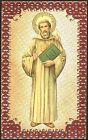 SANTINO HOLY CARD IMAGE PIEUSE - SAN COLOMBANO DI BOBBIO