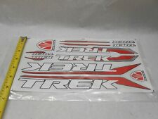 TREK BICYCLES  Red Yellow Bike Road Tri Mountain Sticker Decal Free Shipping