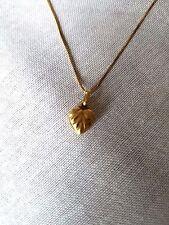 Necklace 18k  Heart shape Magnificent