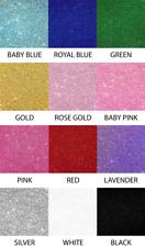 """Glitter Cardstock 12"""" x 12"""" 15 pack"""