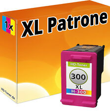 DRUCKER PATRONE für HP 300 XL PHOTOSMART C4670 C4680 C4685 C4780 BUNT TINTE