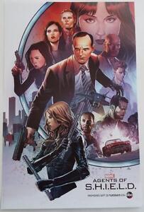 SDCC 2015 Marvel AGENTS OF S.H.I.E.L.D. ABC Poster 13 x 20