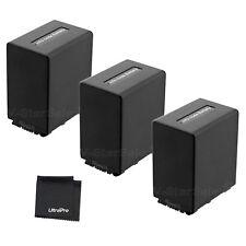 3x NP-FV100 NPFV100 Battery + BONUS for Sony HDR-XR150 XR160 VR260V XR350 XR550V