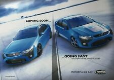 Ford Falcon FPV GT and F6  Poster ..see Sales FG brochure listed