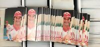 Lot of 3000 The Pete Rose Story 1985 Topps Renata Galasso Baseball Card # 1 RGI