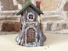 Large Resin Fairy Mushroom House / Cottage