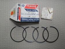 Yamaha 180 YCS1 CS1 piston ring set 4 rings +0.50mm o/s 164-11601-20 genuine NOS