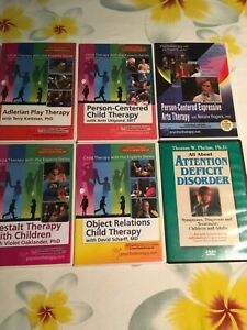 CHILD THERAPY DVD - OBJECT RELATIONS, GESTALT, PERSON CENTERED, ADLERIAN,