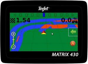 TeeJet Matrix 430 Patch-Antenne Spurführungssystem, Parallelfahrsystem