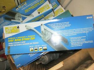 Plews 30-475 3 Way Loading Heavy Duty Lever Action Grease Gun new in factory box