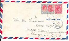 ST KITTS 1948 KG6 COVER