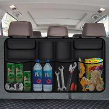 Auto KFZ Rücksitz Aufbewahrung Organizer Tasche mit Netztasche Kofferraum