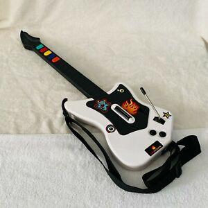 White & Black Guitar Hero Wireless PlayStation 2 Guitar 95025 PS2 RedOctane