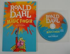 NEW Roald Dahl The Magic Finger Paperback Book & MP3 Audiobook CD Set Audio
