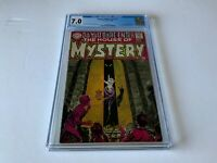 HOUSE OF MYSTERY 174 CGC 7.0 MYSTERY FORMAT BEGINS DC COMICS 1968