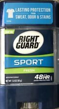 2 Pack Right Guard Sport Fresh Deodorant (3oz.) - Fast Shipping - Set Of 2