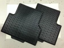 Genuine Audi Q3 Rear Rubber Mats Pair - 8U0061511041