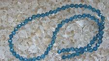 ღ♥Edelstein Kette Kyanit Schmuck mit Kyanite Collier Silber Chain Silver kyanite