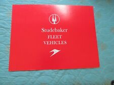 0802s   1959 Studebaker Fleet Vehicles sales brochure