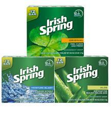 Fresh Irish Spring Bar Soap 20pk/12pk/8pk New!