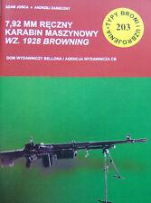 Tbiu 203 tipos de armas y armadura 7,92mm ametralladora Browning mod.1928