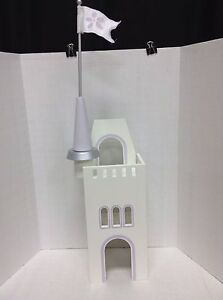 Pottery Barn Kids Fairy Princess Wood Doll Castle Tower Toy Play Girls Westport