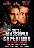 SOTTO MASSIMA COPERTURA STEPHEN DORFF BOB HOSKINS DVD NUOVO SIGILLATO