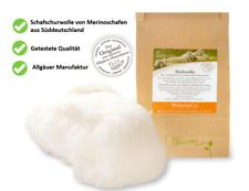 Heilwolle 100g aus 100% Schafschurwolle - Ohrenwolle, Babypflege - Allgäu