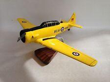T-6 Texan  CT-156 Harvard II RCAF Airplane Desktop Wood Model
