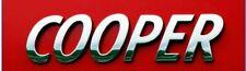 MINI Cooper Emblème Insigne Coffre Hayon Logo METAL chromé 13 cm Countryman