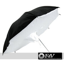 85cm Photo Umbrella - SOFTBOX - white / black - F&V