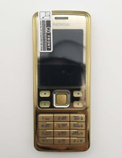 New listing Gold Nokia 6300 Original Unlocked 5Mp Gsm Support with Full Set