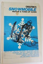 New listing Chilton's Snowmobile Repair and Tune-up Guide by Chilton Hardback 3rd ed.