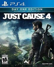 Just Cause 4 Playstation 4 Ps4 Ps5 Day One Edition Square Enix - Brand New!