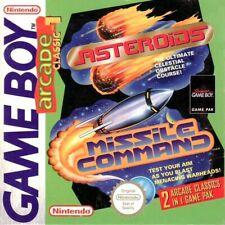 Nintendo GameBoy - Arcade Classics 1: Asteroids Missile Command Modul mit Anl.