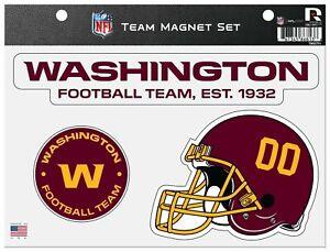 Washington Football Team Magnet Sheet Multi Die Cut Heavy Duty Auto Home