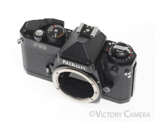 Nikon FE-2 Black Camera Body Parts / Repair (broken shutter)