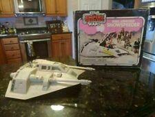 VINTAGE KENNER STAR WARS 1980 HOTH SNOWSPEEDER W/ BOX WORKING LIGHTS & SOUND!