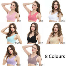 New Wireless Front Cross Buckle Lace soft bra Side Buckle yoga sport bra hot