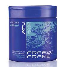 Natural Look Freeze Frame Superhold Styling Gel 500g
