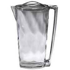 Plastic Pitcher with Lid 64 oz. Capacity