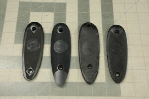 4x Factory Winchester Rifle or Shotgun Early Style Plastic Butt Plates